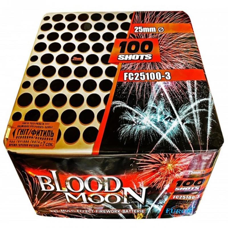 Феєрверк Blood MOON FC25100-3 на 100 пострілів