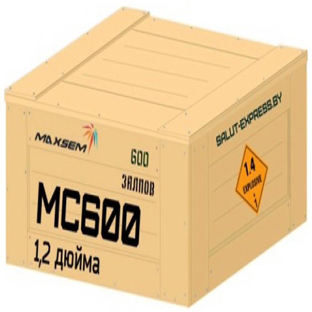 Феєрверк Vip віяло MC600 на 600 пострілів купити в интернет-магазині Piston Київ