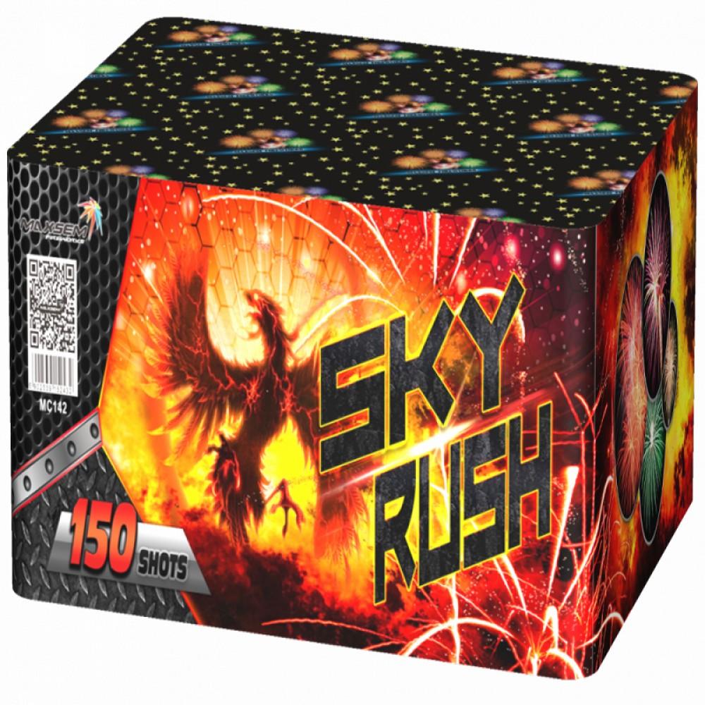 Феєрверк Sky rush MC142 на 150 пострілів купити в интернет-магазині Piston Київ