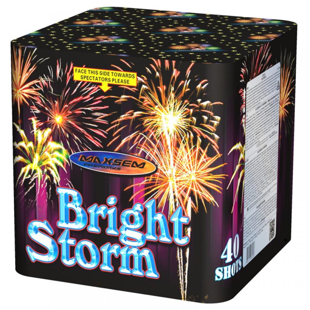 Фейерверк Bright storm GP513 на 40 выстрелов от ТМ Maxsem