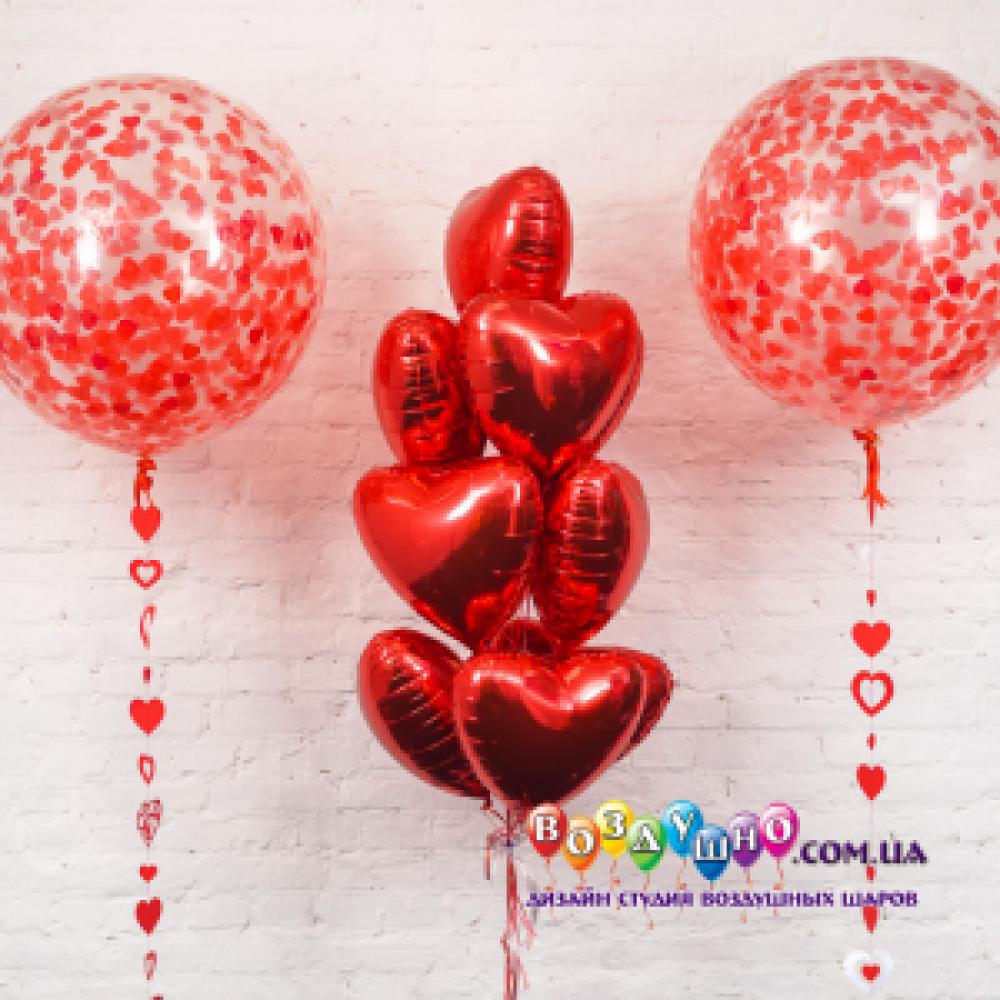1112-0221 Набір гелієвих кульок із 13 шт