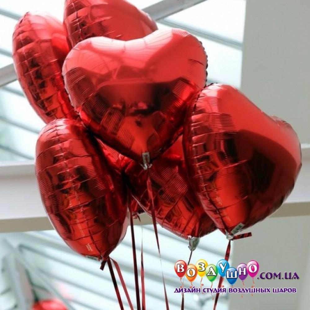 1112-0687 Набір гелієвих кульок із 7 шт
