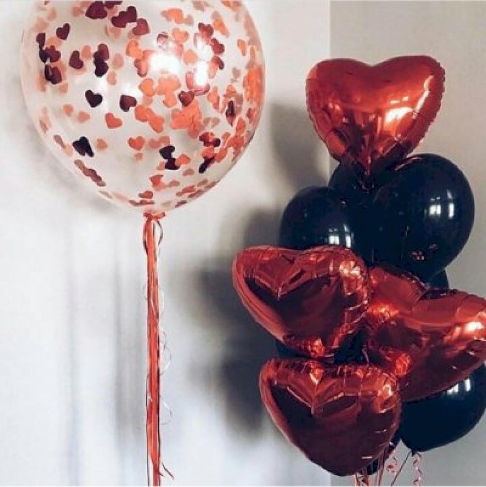 1112-0319 Набір гелієвих кульок із 14 шт