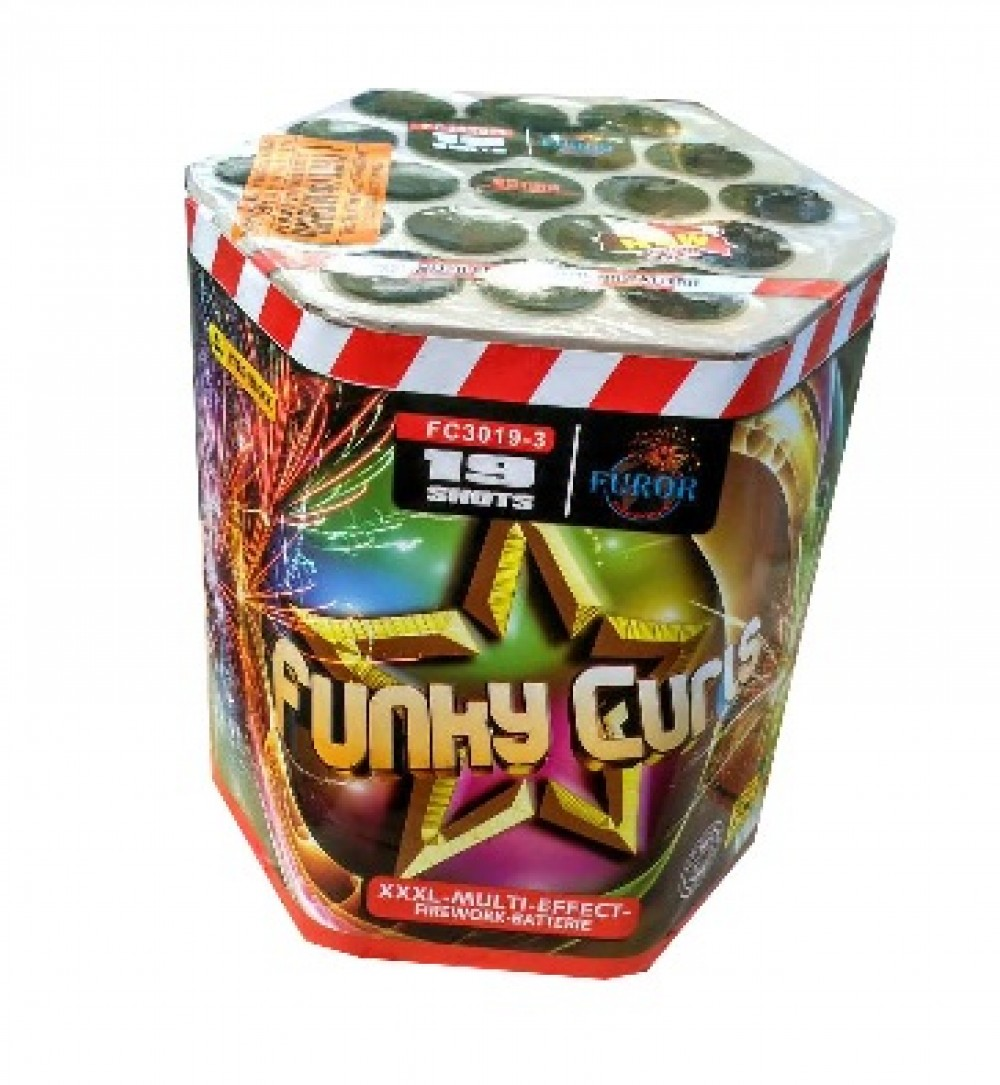 Фейерверк Funky Curis FC3019-3