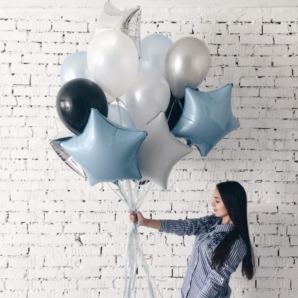 1112-0035 Набір гелієвих кульок із 14 шт