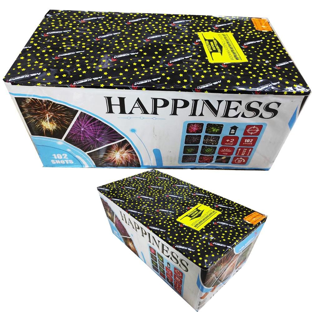 Фейерверк Happiness MC128 на 106 выстрелов от ТМ Maxsem
