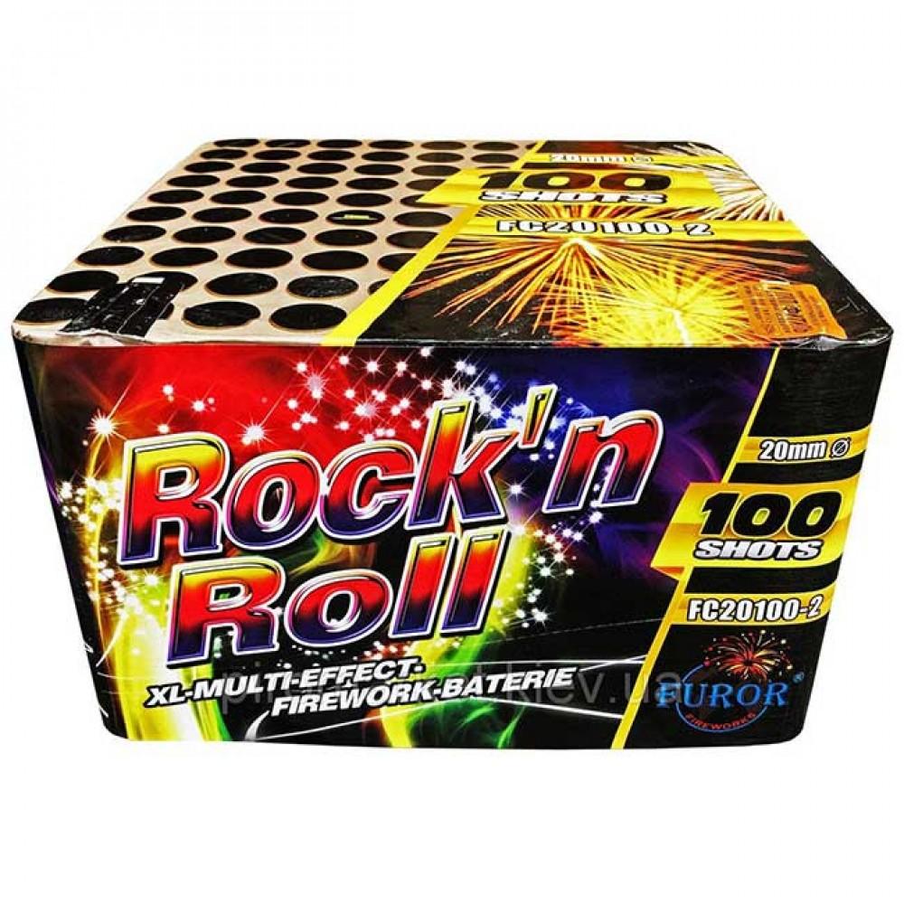 Фейерверк Rock'n Roll FC20100-2 на 100 выстрелов от ТМ Фурор