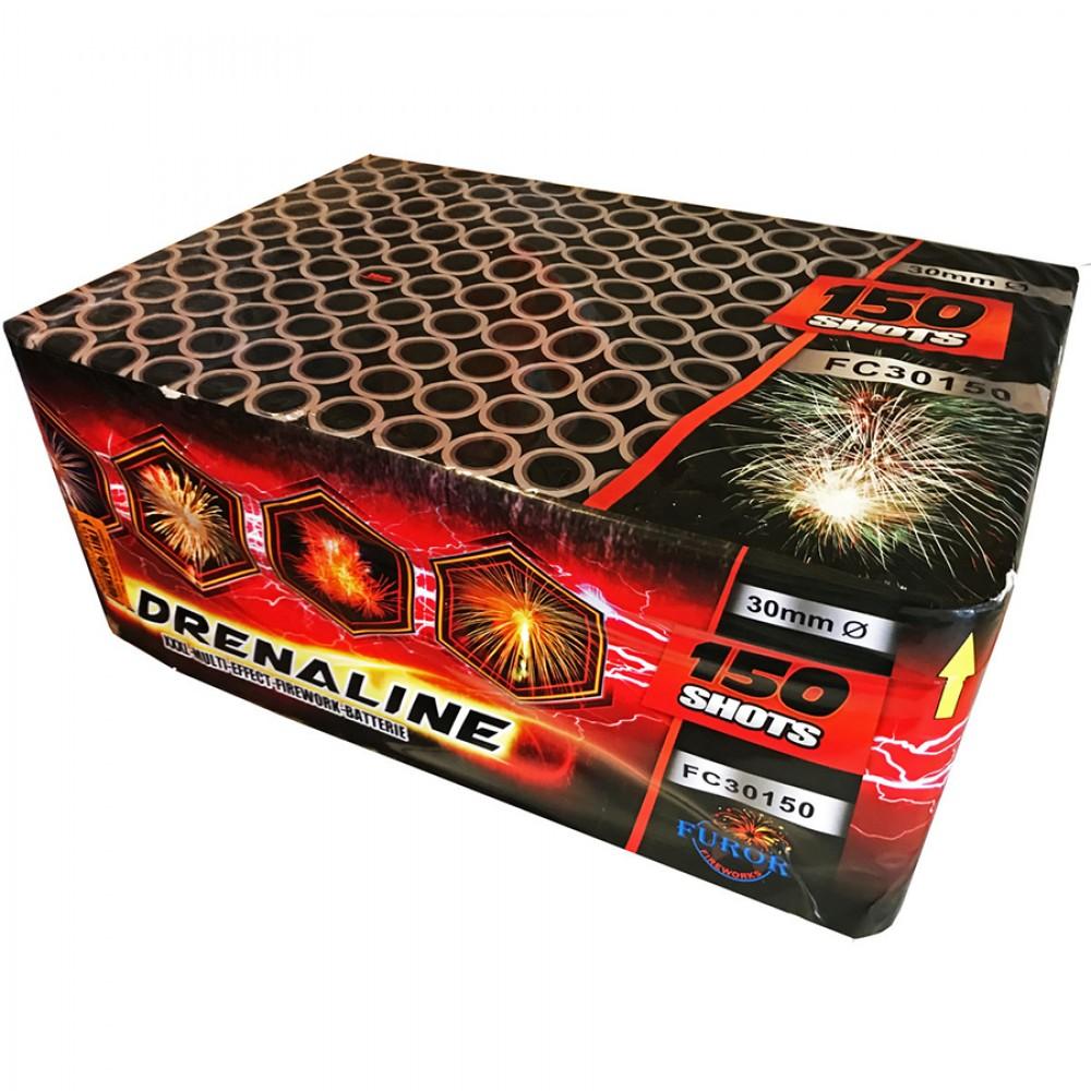 Феєрверк Adrenaline FC30150 на 150 пострілів купити в интернет-магазині Piston Київ