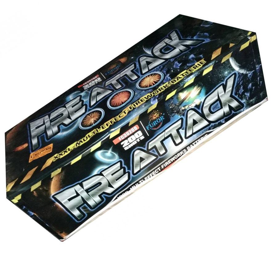 Феєрверк Fire Attack FC30200 на 200 пострілів купити в интернет-магазині Piston Київ