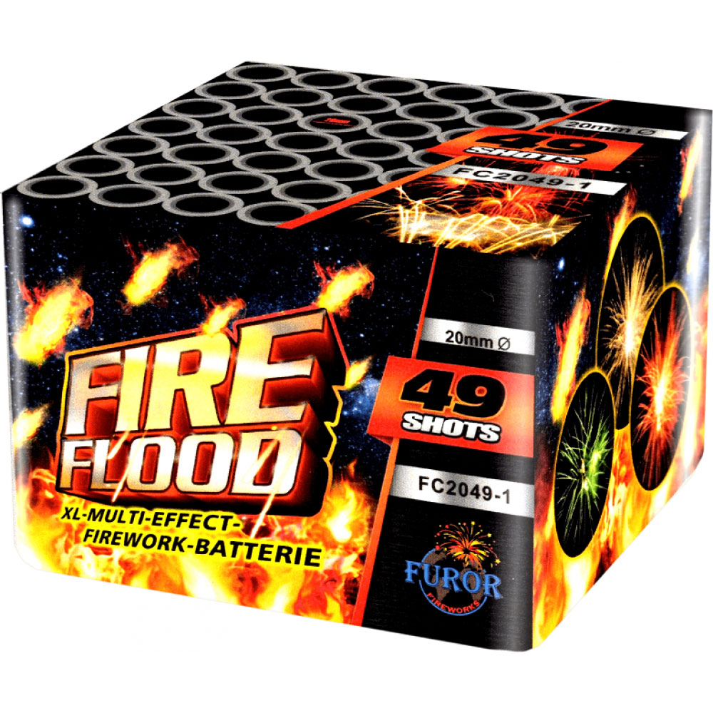Фейерверк Fire Flood FC2049-1 на 49 выстрелов от ТМ Фурор