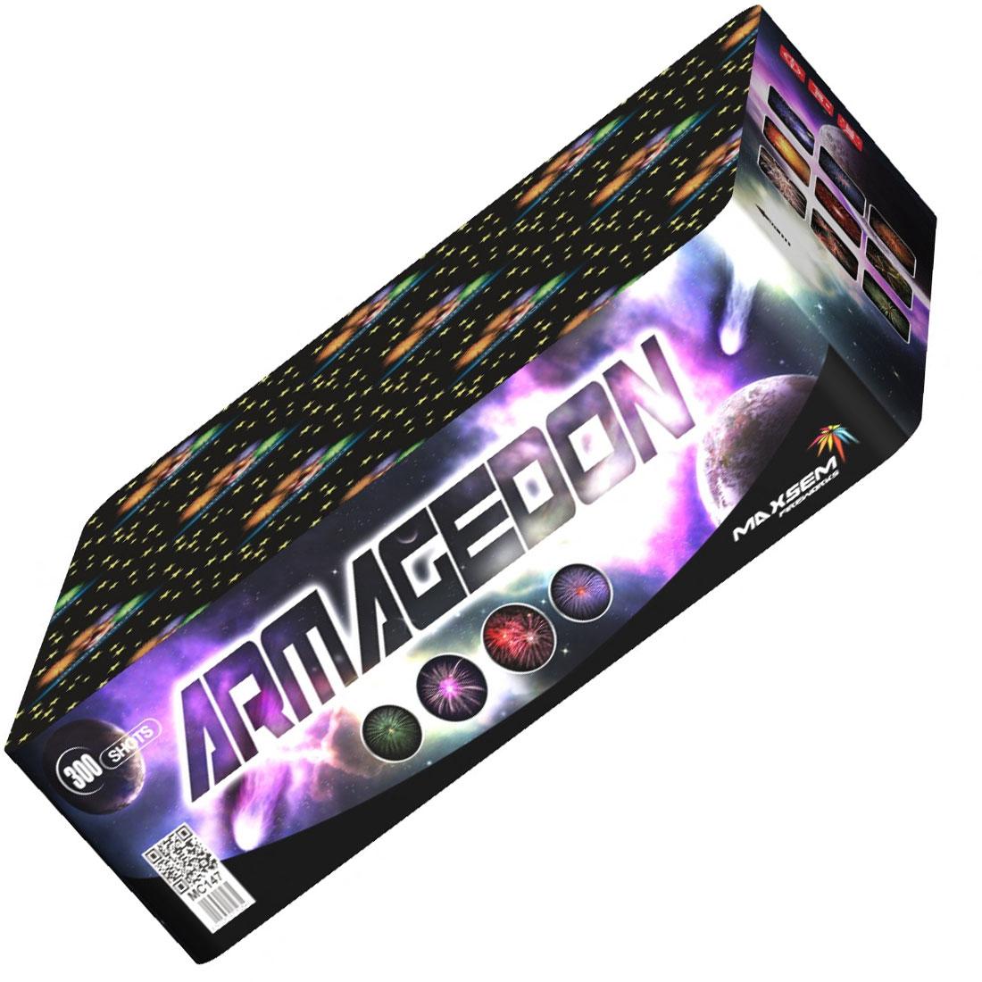 Феєрверк Armagedon MC147 на 300 пострілів