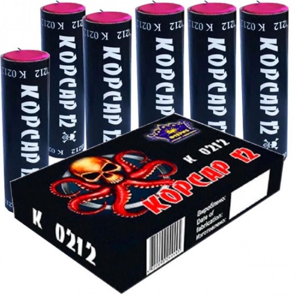 Упаковка петард K0212 Корсар 12 (ЦІНА за упаковку із  шт)