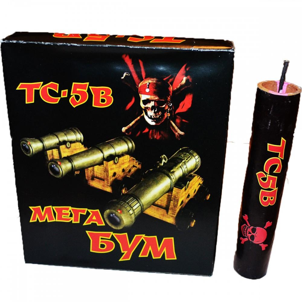 Упаковка петард TC-5B Мега Бум (ЦІНА за упаковку із  шт)