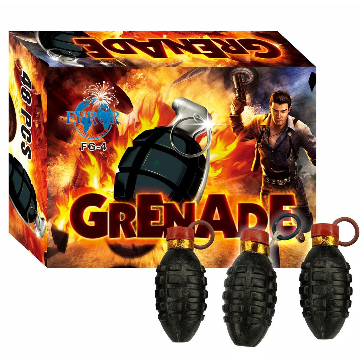 Упаковка петард FG-4 Граната Grenade (ЦІНА за упаковку із  шт)